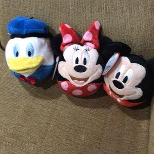 NWT Hallmark Disney fluffballs.